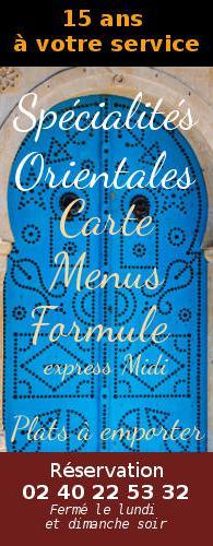 spécialités orientale, chez Hammamet-st-nazaire-44600